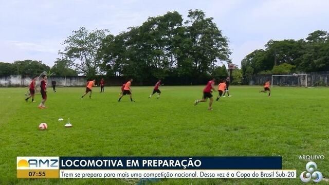Trem se prepara para mais uma competição nacional. Dessa vez é a Copa do Brasil Sub-20
