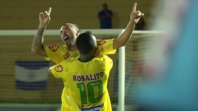 Os gols de Mirassol 2 x 1 São Bento pelo Campeonato Paulista