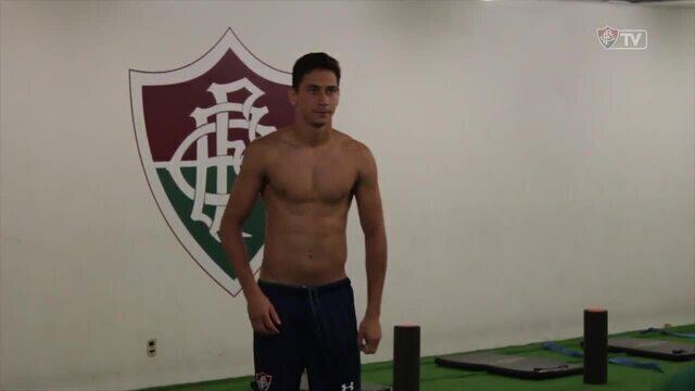 Confira os bastidores da vitória do Fluminense sobre o Bangu pelo Carioca