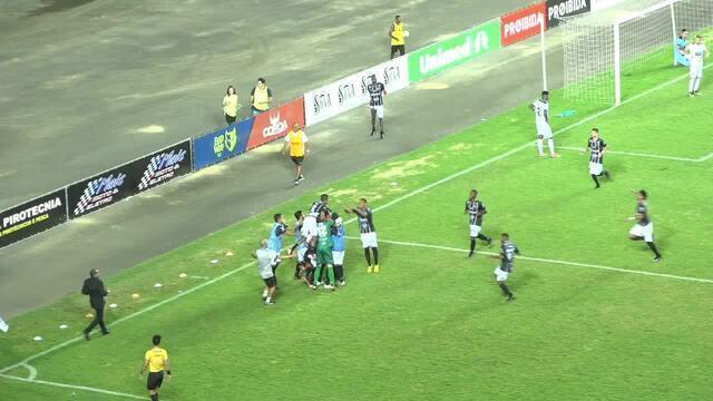 Os gols de Rio Branco-ES 2 x 1 Vitória-ES, pelo Campeonato Capixaba 2019