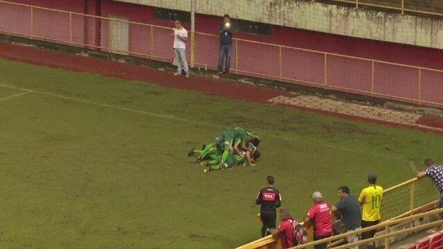 Assista os gols da vitória do Galvez sobre o Plácido de Castro na semifinal do 1º turno