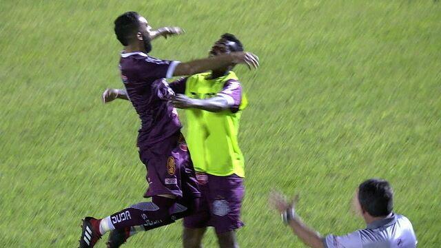 Os gols de Sertãozinho 1 x 1 Santo André pelo Campeonato Paulista A2