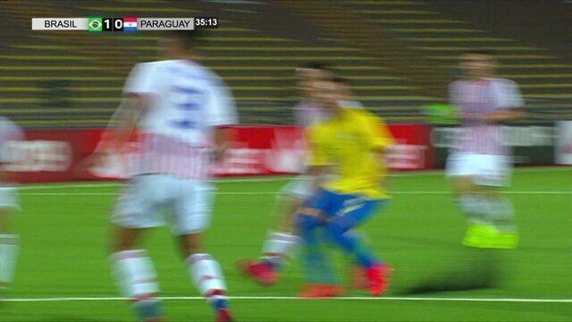 Melhores momentos de Brasil 3 x 2 Paraguai pelo Su-Americano Sub-17 2019