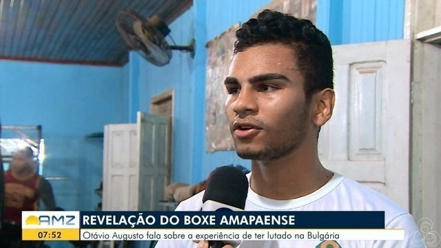 Revelação do Boxe Otávio Augusto fala sobre a experiência de ter lutado na Bulgária