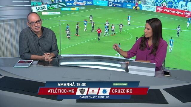 Espião estatístico analisa Atlético-MG e Cruzeiro e aponta time celeste a frente do rival