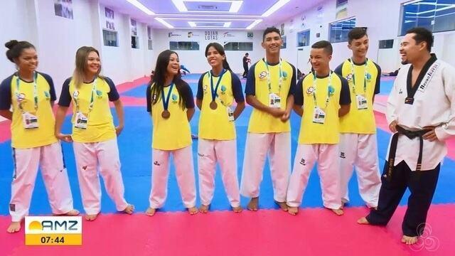 Seleção de Taekwondo do AP conquista bronze no campeonato brasileiro escolar