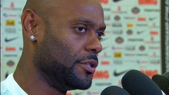 """""""Temos condições de brigar pela Copa do Brasil"""", diz Vagner Love no Corinthians"""