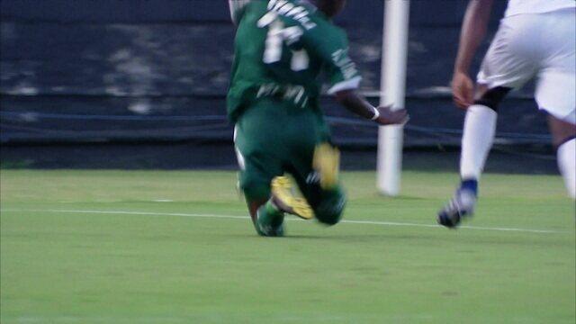 Os gols de Vasco 1 x 4 Palmeiras pela semifinal da Copa do Brasil sub-20