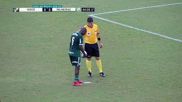 Melhores momentos: Vasco 1 x 4 Palmeiras pela semifinal da Copa do Brasil sub-20
