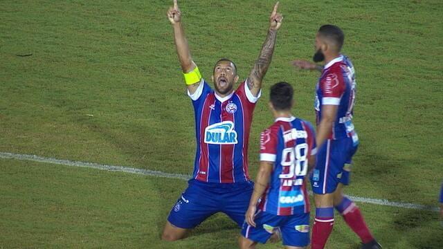 Os gols de Londrina 2 x 1 Bahia pela quarta fase da Copa do Brasil