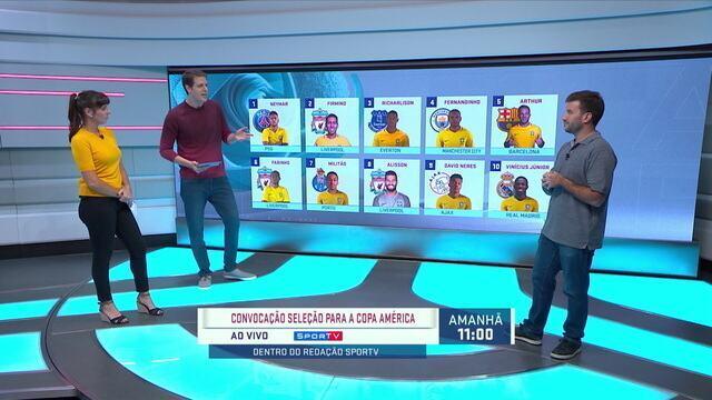 Radar da Seleção traz top-10 da temporada e monta lista para Copa América