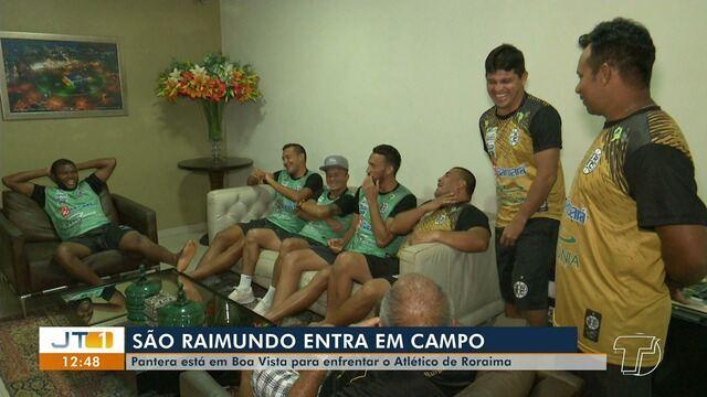 São Raimundo está em Boa Vista e se prepara para enfrentar o Atlético-RR