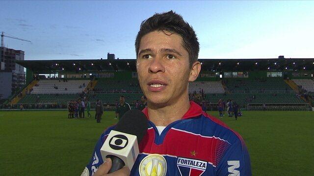 Osvaldo comemora vitória e destaca personalidade da equipe