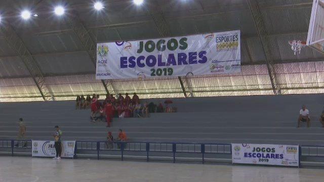 Disputa no futsal abre modalidades coletivas dos Jogos Escolares em Rio Branco