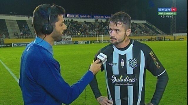 Zé Antônio lamenta derrota do Figueirense para o Bragantino