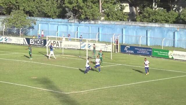 Os gols de Vitória-ES 2 x 0 Portuguesa-RJ, pela Série D do Campeonato Brasileiro 2019