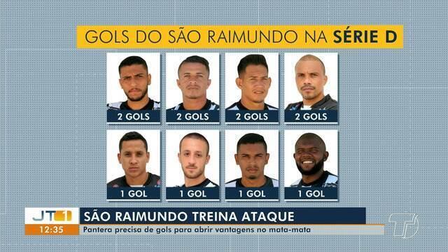 São Raimundo se prepara para disputar jogo no domingo, em Santarém