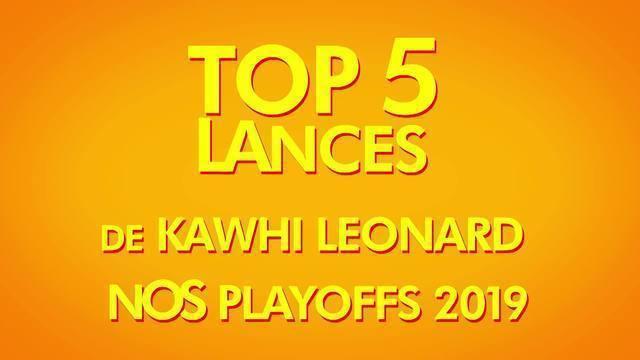 Top 5: Jogadas de Kawhi Leonard