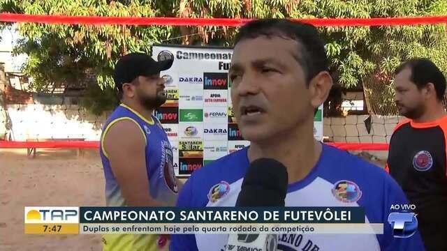 Campeonato Santareno de Futevôlei chega a 4ª rodada; duplas disputam competição