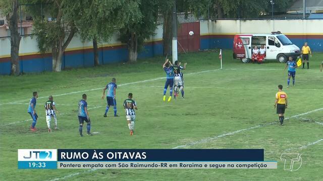 São Raimundo empata com Mundão de Roraima e se classifica na Série D