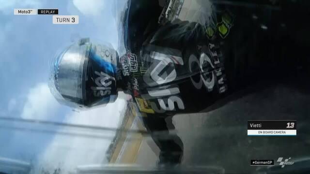 Especial: Quedas na etapa de motovelocidade na Alemanha