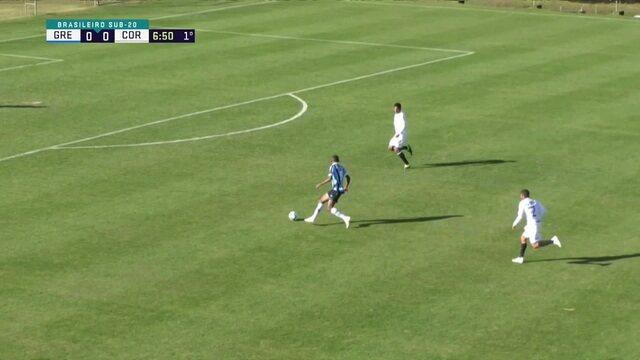 Melhores Momentos de Grêmio 2 X 0 Corinthians Pelo Campeonato Brasileiro Sub-20