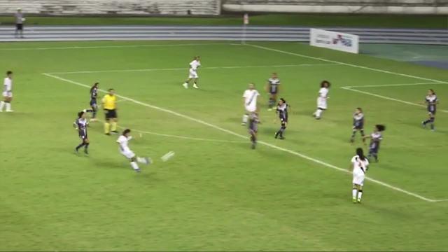 Os gols do Vasco sobre o Pinheirense pelo Brasileirão Feminino Sub-18