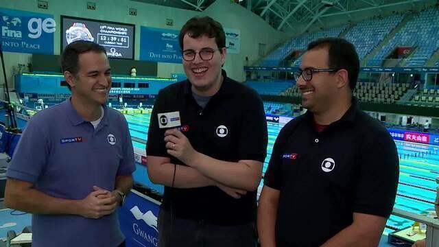 Brasil tem chance real de medalha no 4x100m da natação; veja análise