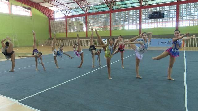 Ginástica Rítmica encerra os Jogos Escolares de Roraima