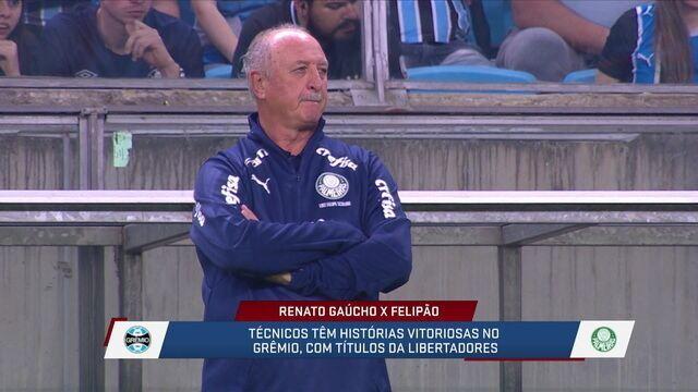 SporTV News comentam as características dos técnicos Renato Gaúcho e Felipão