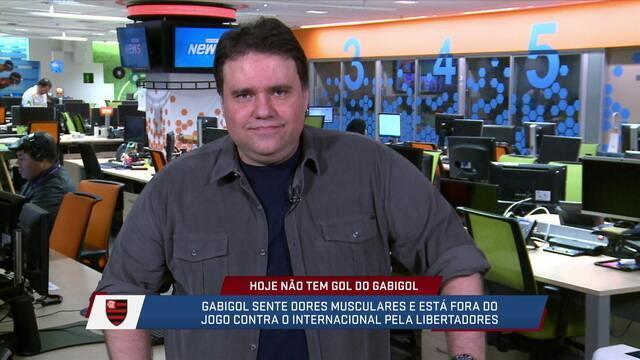 Rodrigo Rodrigues comenta sobre as expectativas para jogo Flamengo e Internacional pela Libertadores