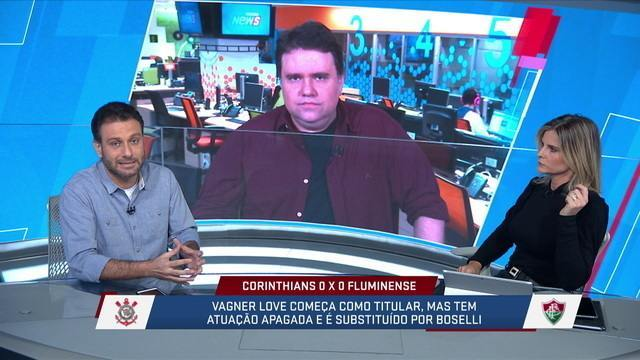 """Segundo Loffredo , o jogo de ontem do Corinthians em casa, era """"O"""" jogo para se arriscar"""