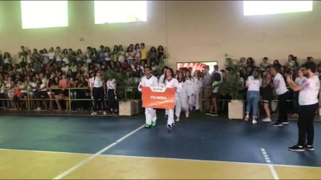 Cerimônia de abertura dos Jogos Escolares de Rondônia