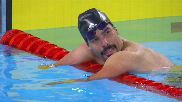 Daniel Dias conquista ouro nos 50m do Parapan