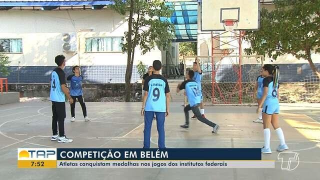 Estudantes do IFPA Santarém se destacam nos jogos dos JIF'S em Belém.
