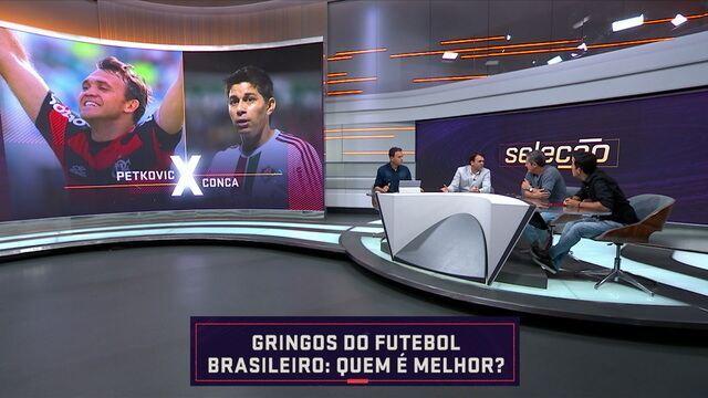 Quem é melhor? Seleção SporTV compara os gringos que passaram pelo futebol brasileiro
