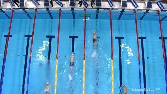 Daniel Dias leva medalha de bronze nos 50m livre S5 no Mundial de Natação Paralímpica