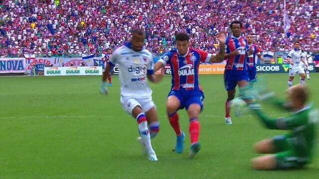Os gols de Bahia 1 x 1 Fortaleza pela 19ª rodada do Campeonato Brasileiro 2019