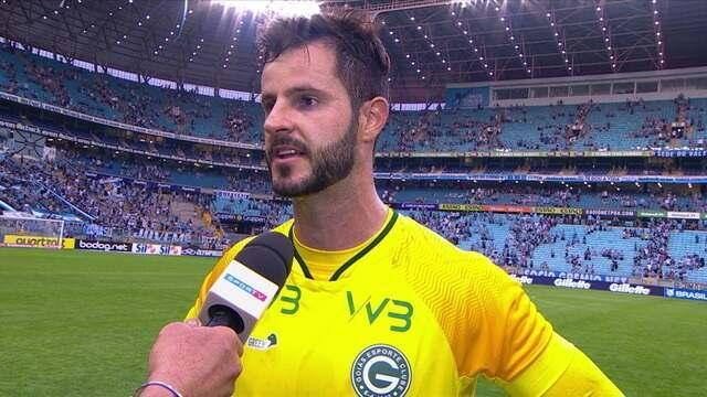 Marcelo Rangel avalia sua estreia na Série A e lamenta derrota para o Grêmio