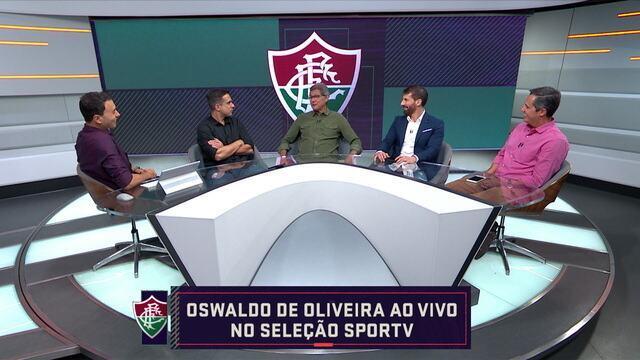 """Oswaldo de Oliveira fala sobre vitória: """"Temos que manter o foco para conseguir essa virada"""""""