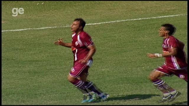 O gol de Vitória-ES 0 x 1 Desportiva Ferroviária, pela Copa Espírito Santo 2011