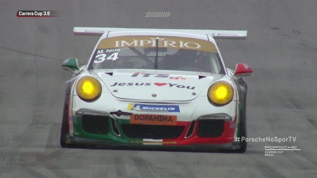 Matheus Iorio vence etapa da GT3 3.8 da Porsche Carrera Cup