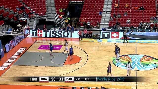 Melhores momentos de Brasil 101 x 59 Paraguai pela Copa América de basquete feminino