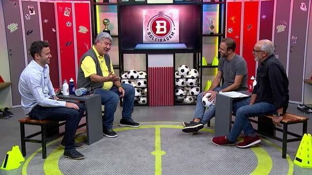 Boleiragem: Roger Flores recebe Joel Santana, maestro Júnior e o ex-lateral Juan