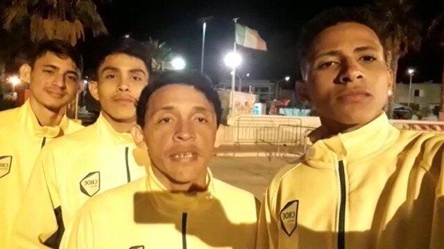 Atletas de Roraima estreiam sábado no Mundial Escolar de Vôlei de Praia e pedem torcida