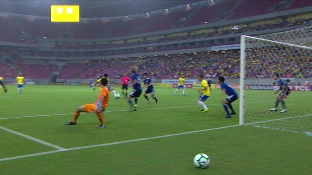 Melhores momentos: Brasil 2 x 3 Japão em amistoso internacional