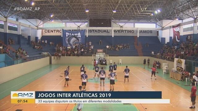Jogos Inter Atléticas movimentam centenas de estudantes da Universidade Federal do Amapá
