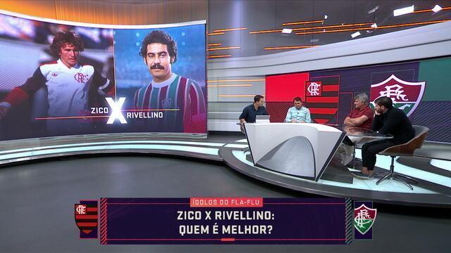 Quem é melhor? Confira escolha entre ídolos de Flamengo e Fluminense