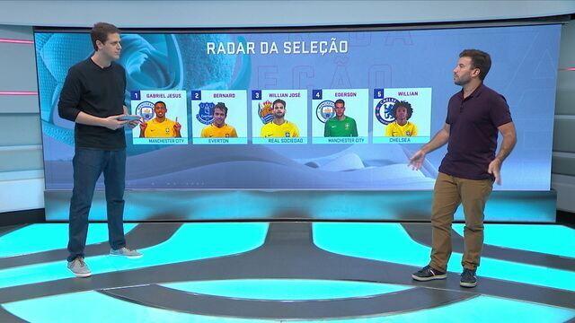 Radar da Seleção: Gabriel Jesus marca como titular, e Ederson brilha com defesaças