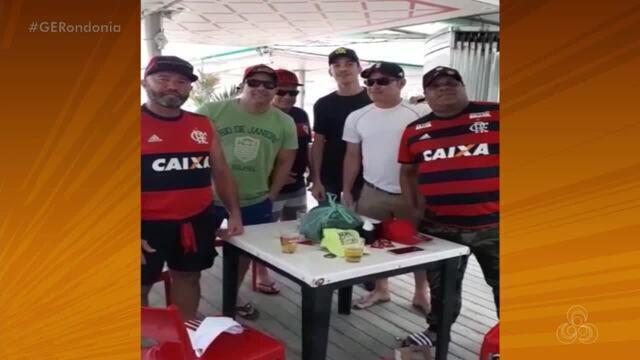 Torcida de Rondônia no Rio de Janeiro